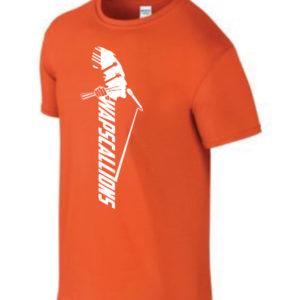 Wapscallions Tee shirt Orange