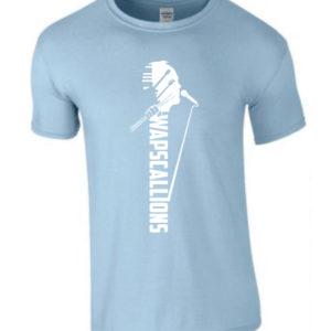 Wapscallions Tee shirt Sky Blue